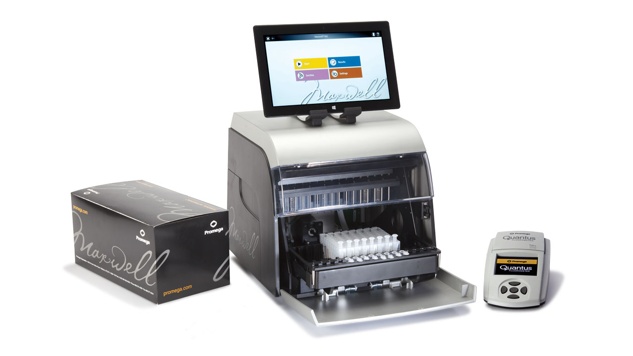 Maxwell Systems-Automated Sample Processing